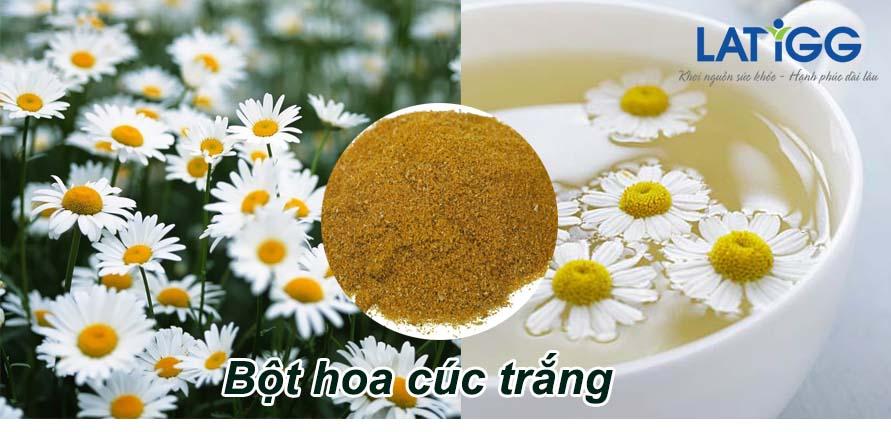 Bột hoa cúc trắng Mách bạn các món ăn hỗ trợ điều trị rối loạn tiền đình