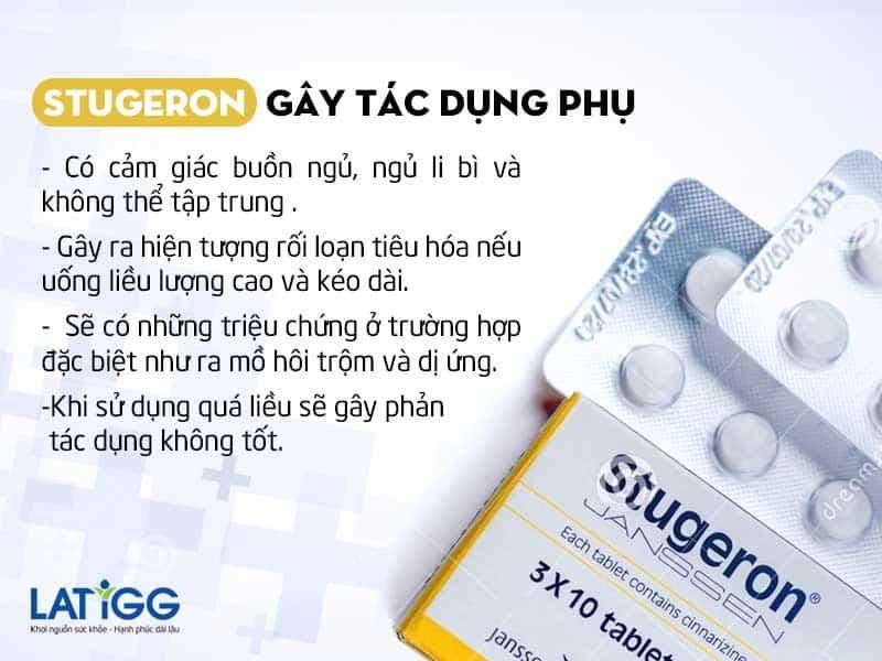 stugeron gay tac dung phu