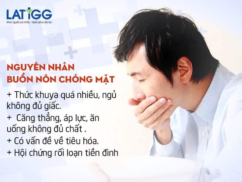 nguyen nhan buon non chong mat