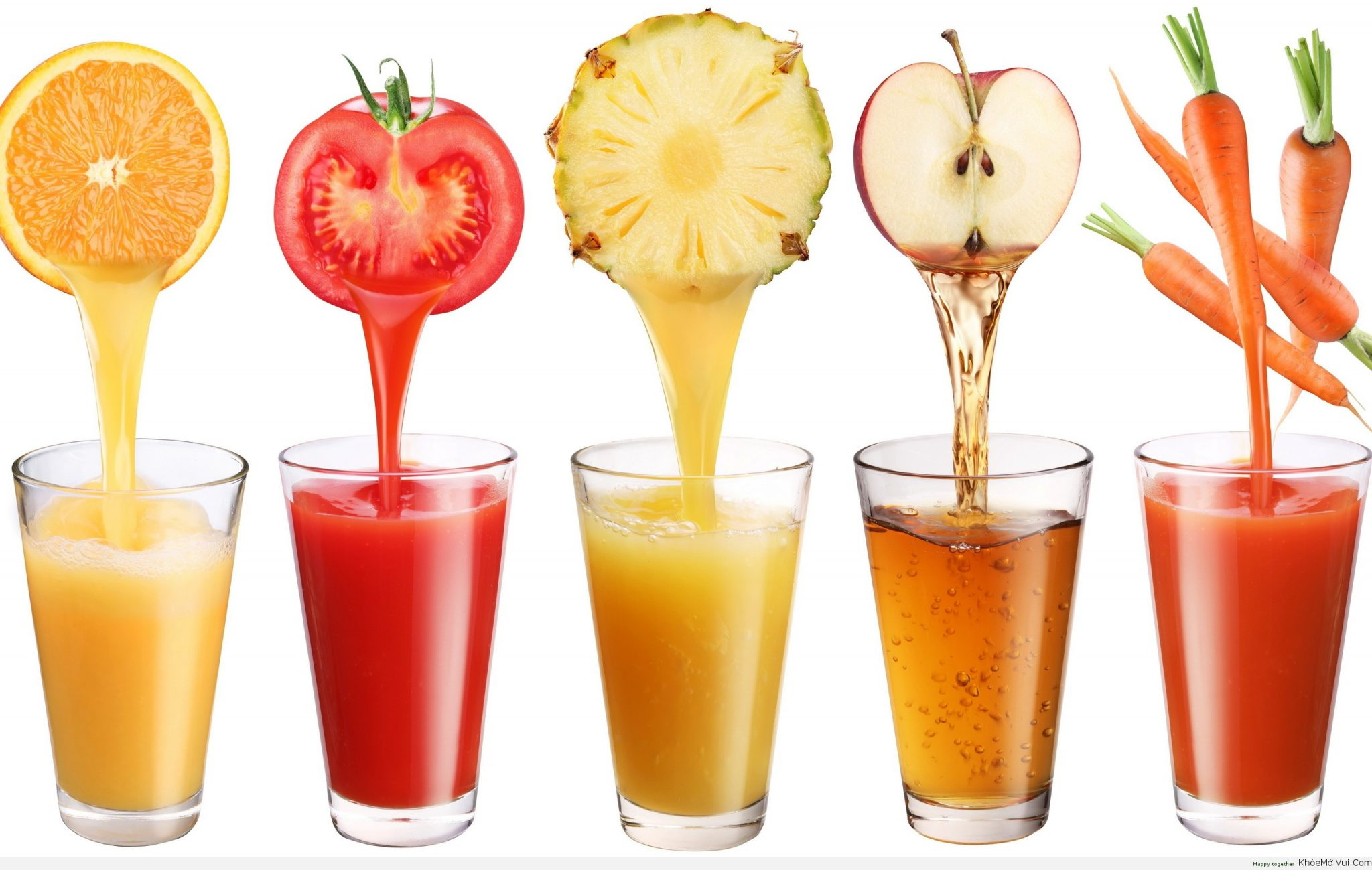 uống các loại nước ép hoa quả là cách chữa trị buồn nôn