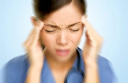 nhức đầu, chóng mặt, biểu hiện của rối loạn tiền đình