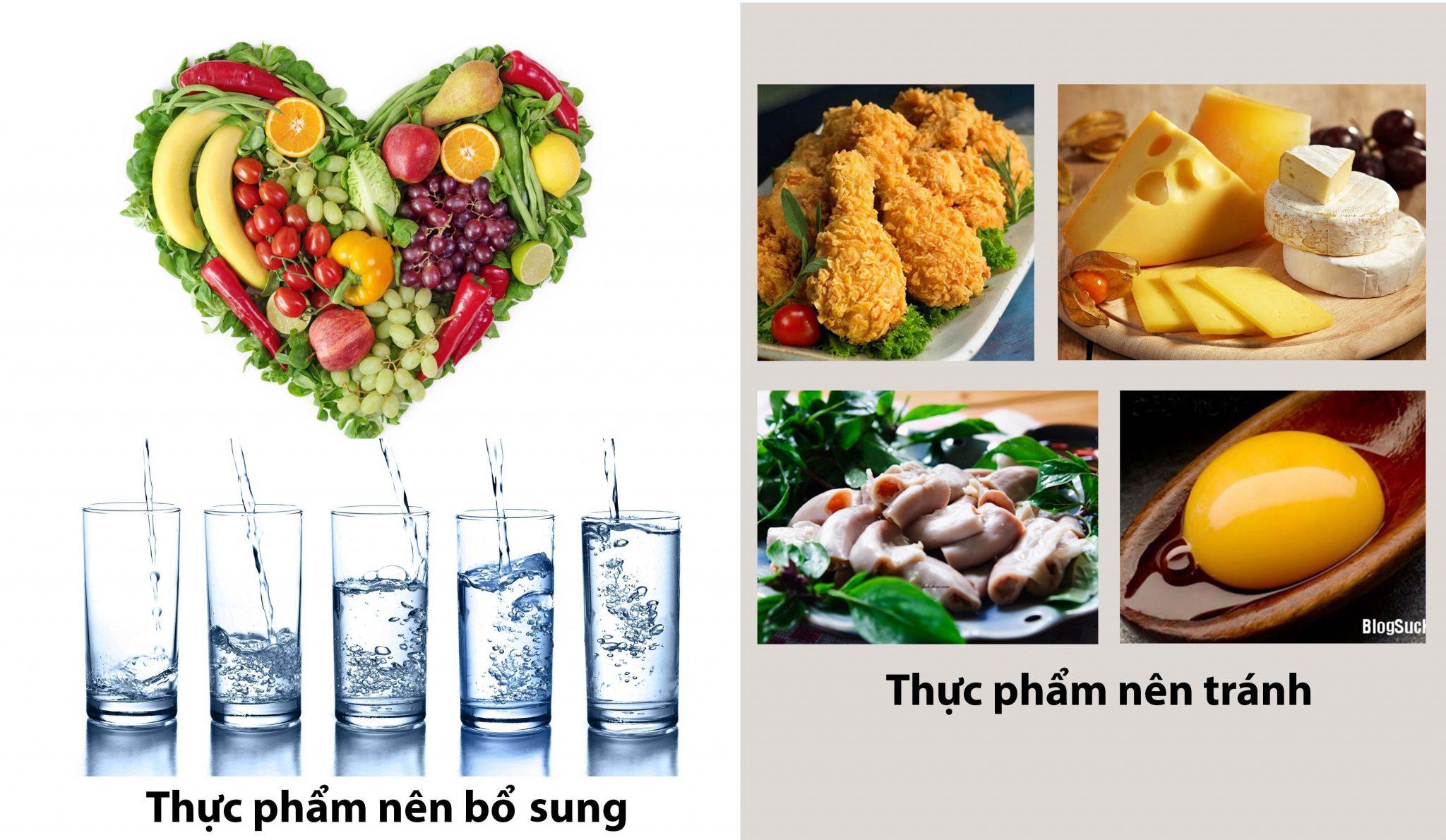 Lời khuyên dinh dưỡng khi mắc bệnh rối loạn tiền đình