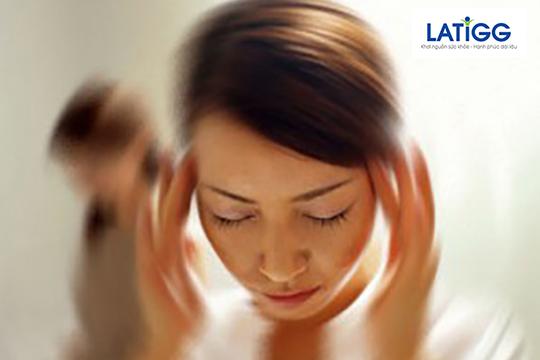 Chóng mặt thường xuyên là một trong những dấu hiệu của rối loạn tiền đình Bạn có biết rối loạn tiền đình là gì?