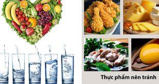 Người mắc rối loạn tiền đình nên kiêng ăn gì?