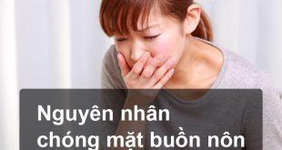 nguyên nhân chóng mặt buồn nôn 1 Nguyên nhân chóng mặt buồn nôn thường gặp nhất
