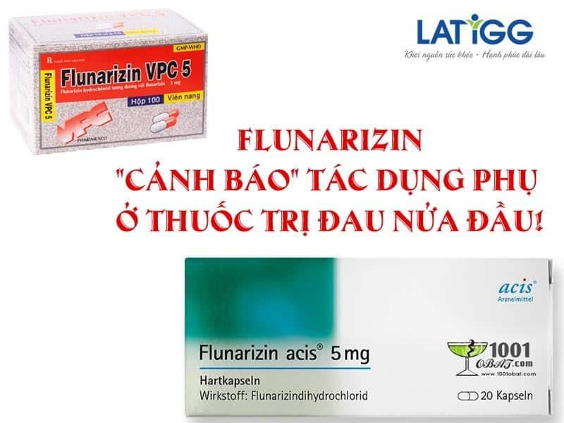 """Flunarizin - """"Cảnh báo"""" tác dụng phụ ở thuốc trị đau nửa đầu Flunarizin – """"Cảnh báo"""" tác dụng phụ ở thuốc trị đau nửa đầu!"""
