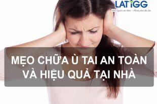 chữa ù tai tại nhà 1 Mách bạn mẹo chữa ù tai an toàn và hiệu quả tại nhà