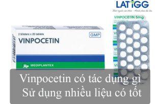 Vinpocetin sử dụng nhiều có tốt không Vinpocetin có tác dụng gì – Sử dụng nhiều liệu có tốt?