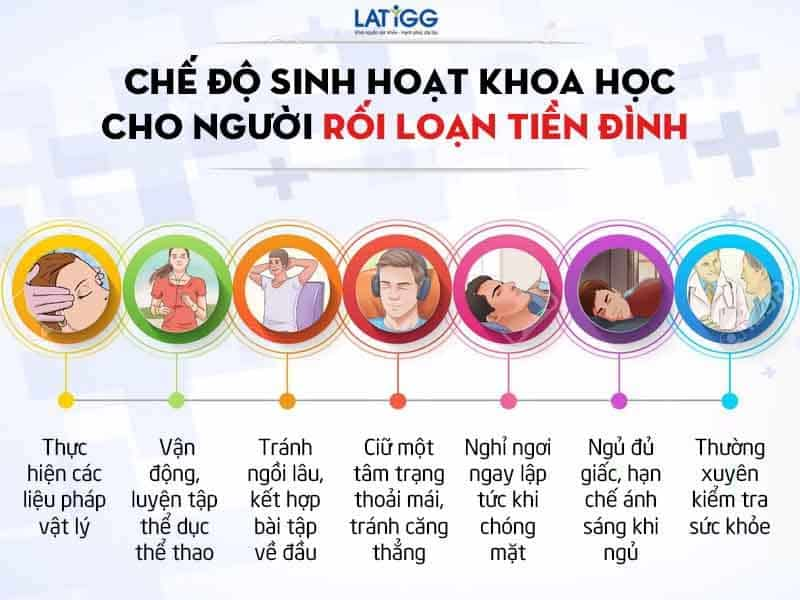 che do sinh hoat cho nguoi roi loan tien dinh