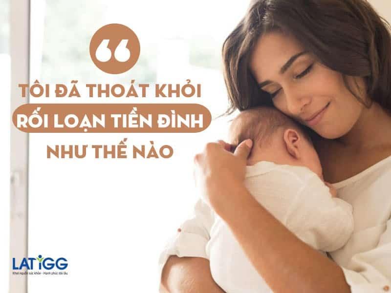 roi loan tien dinh phu nu sau sinh